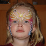 Kinderschminken von den Facepainters aus Hinte