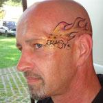Facepainting von den Facepainters beim Sommerfest des Elternvereins krebskranker Kinder