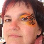 Facepainting von den Facepainters für die Fresena Apotheke in Hinte