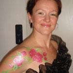 Bemalung für eine Hochzeitsfeier von den Facepainters