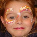 Kinderschminken von den Facepainters in Emden, Aurich, Norden & Leer