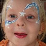 Kinderschminken von den Facepainters beim Tag der offenen Tür der Emder Stadtwerke