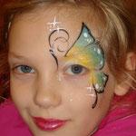Kinderschminken von den Faceapinters im Multi Emden
