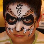 Kinderschminken für Jungs von den Facepainters aus Hinte