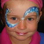 Kinderschminken von den Facepainters für die BKK Schwenninger in Emden