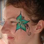 Face painting von den Facepainters beim Tag der offenen Tür der Emder Stadtwerke