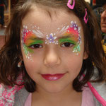 Kinderschminken von den Facepainters aus Hinte bei Emden