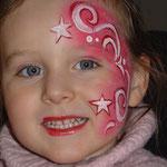 Kinderschmiken von den Facepainters aus Hinte bei Emden