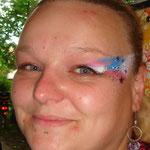 Face painting von den Facepainters beim Burgfest in Pewsum