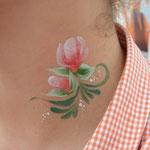 Tattooschminken von den Facepainters in Hinte, Emden, Leer, Norden, Aurich & Krumhörn