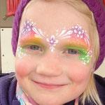 Kinderschminken von den Facepainters für die FresenaApotheke in Hinte