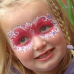 Kinderschminken von den Facepainters
