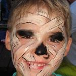 Mumie geschminkt von den Facepainters im Van Ameren Bad in Emden zur Gruselnacht