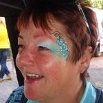 Face painting von den Facepainteres beim Heimatverein Uphusen