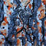 """Kieferinde 2"", 60 cm x 80 cm, Acryl, Spachtelmasse, Marmormehl (in Privatbesitz)"