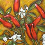 """""""Chili"""", 60 cm x 70 cm"""