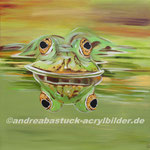 """""""Alles im Blick"""", 100 x 100 cm, in Privatbesitz"""
