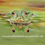 """""""Alles im Blick"""", 100 x 100 cm  (in Privatbesitz)"""