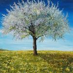 """Frühling"", 50 cm x 60 cm"