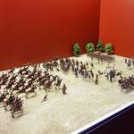 Nachstellung einer Schlacht von Gerhard Otto aus Klitzschen