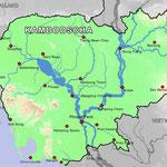 Inlandsreisen in Kambodscha