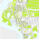 Схема генерального плана территории