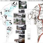 Схема существующей застройки и дорог