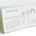 Настольный календарь для детей с образовательно-просветительской функцией