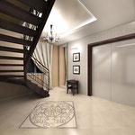 Лестничный холл 2 этажа