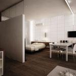 Спальная-столовая-гостиная