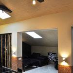 Мансарда - вид на малую гостиную