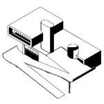 Дом архитектора-велосипедиста - концептуальный конкурсный проект, 2007 год