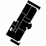 "Четырехкомнатная квартира с эркером в ЖК ""Бриг-2"", Самара, 2014 г."