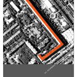 Выбранная для показательного проектирования крыша жилого дома на проспекте Ленина,1