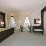 Спальная - вид на лоджию