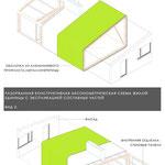 Схемы конструктивных составляющих домика