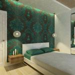 Спальная_вид от комода