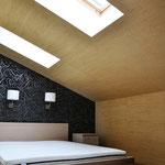 Гостевая спальная на мансарде