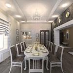 Столовая - вид в сторону кухни