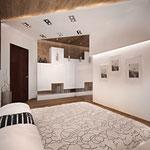 Спальная - вид на вход