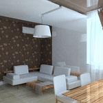 Кухня-гостиная_вид на диван