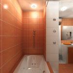 Ванная комната - вид из ванной