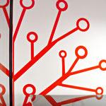 """Фрагмент логотипа """"Древа"""" на стене офиса"""