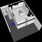 Схема объёмного решения музея