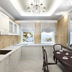 Кухня - вид от входа