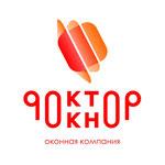 """Логотип для торговой марки оконных конструкций """"Доктор Окно"""", Самара, 2011 г."""