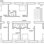 Перепланировка второго этажа (гостевые спальные комнаты)