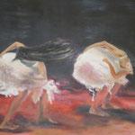 Tanz, 2011, Acryl/LW, 50 x 70 cm