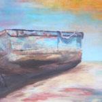 Tide, 2015, Acryl/LW, 90 x 100 cm