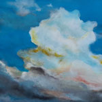 Wolkenschieber, 2019, Acryl/LW, 50 x 100 cm